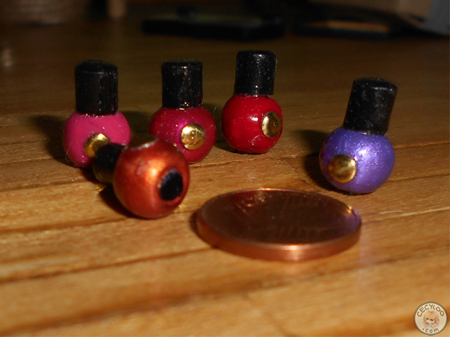 Miniatures : Make up - Nailpolishes